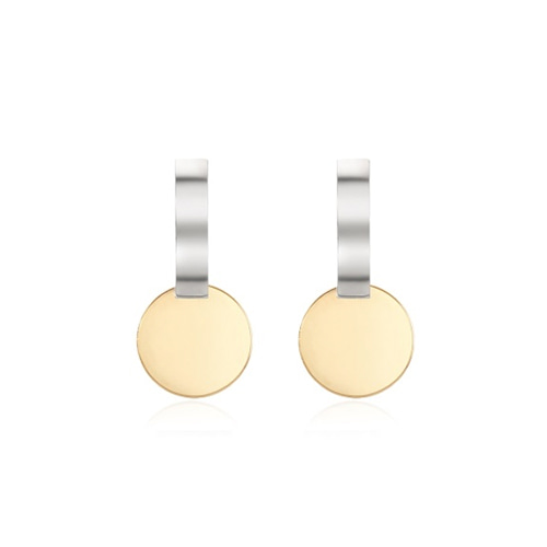 Circle Bar Earring