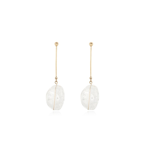 Long Bar Ice Earring