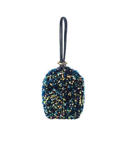 mirroball Bag - blue