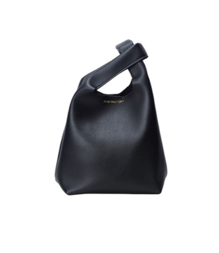 santiago bag -black